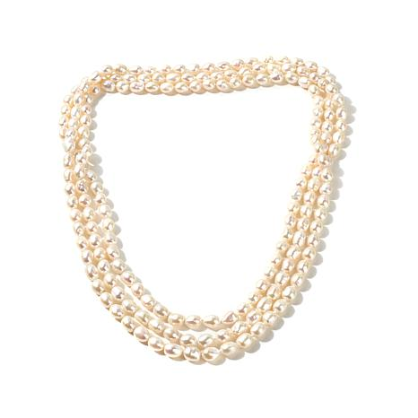 ... imperial pearls 8-9mm baroque cultured pearl necklace ... gplyqjz