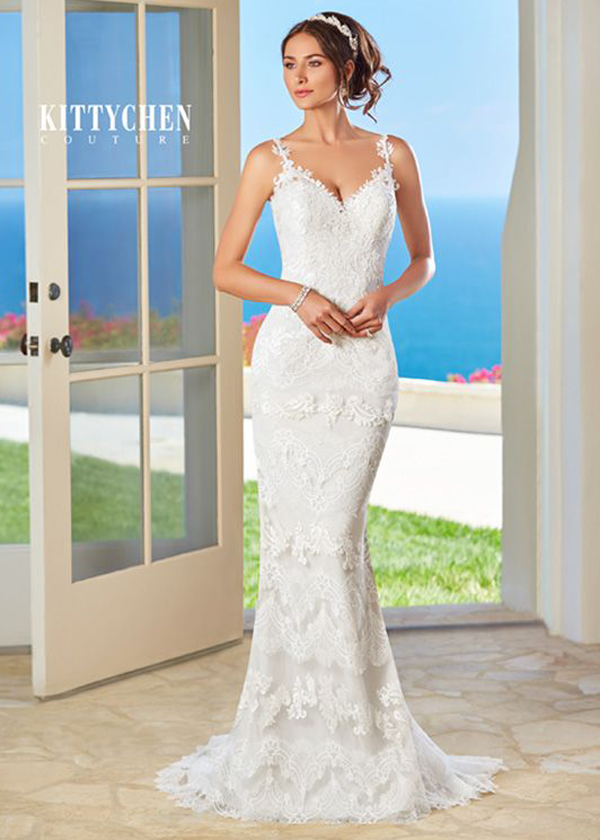 ... luxury caribbean destination wedding dresses by kittychen couture -  lana ... icerden