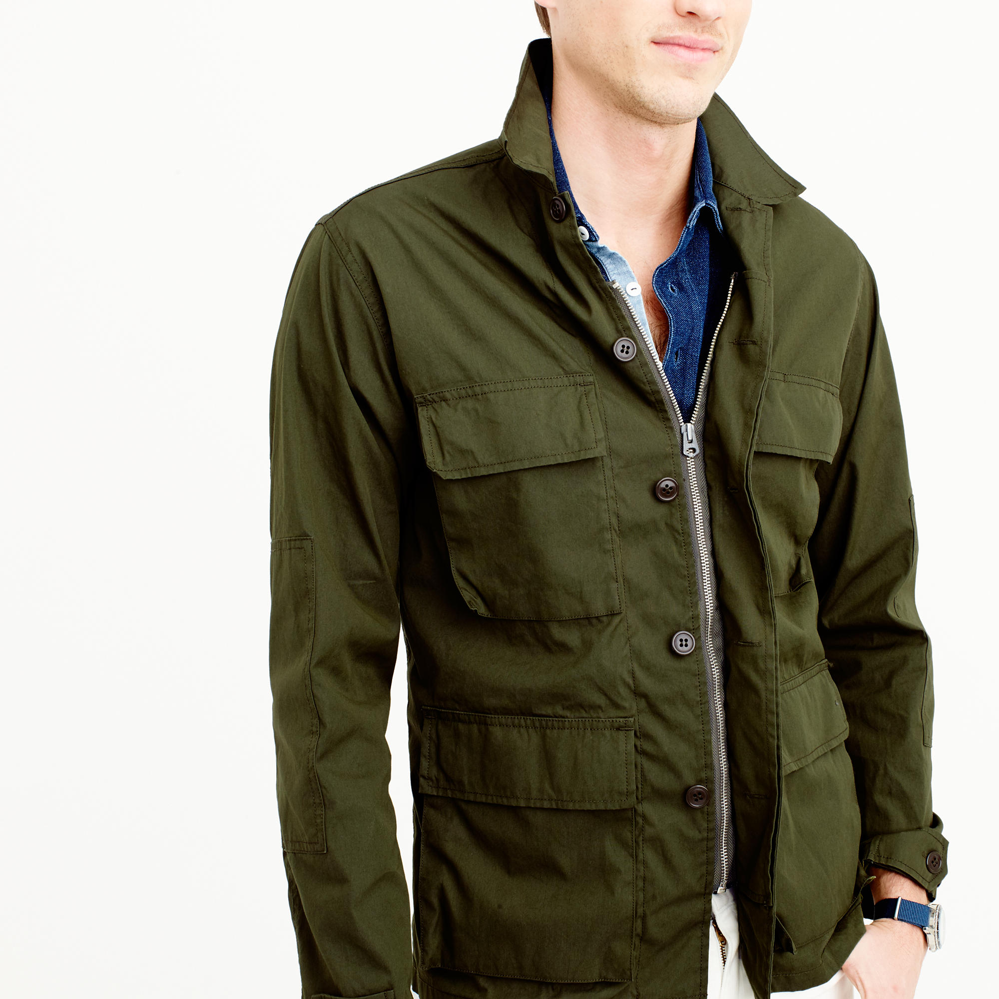 ... wallace - barnes lightweight military jacket ... dobkaww
