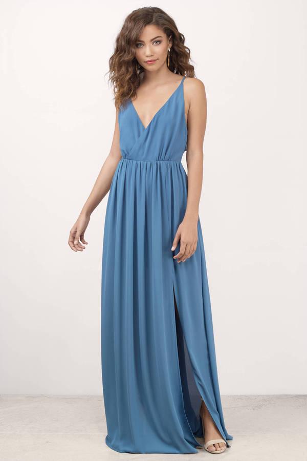 ... zeze blue maxi dress nlvbthc