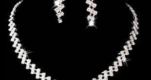 0 hot new arrival bridal wedding sets prom jewelry crystal rhinestone  diamante necklace u0026 eghapyd