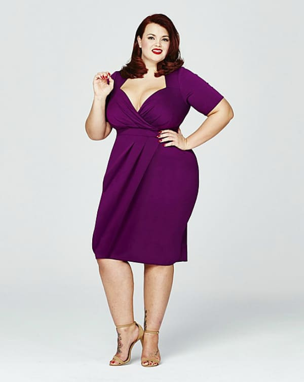 12 uber chic plus size wrap dress you need in your closet aqdwofz