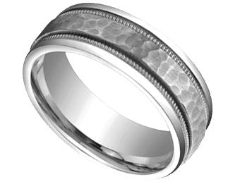 14k white gold wedding bands ckmlzvh