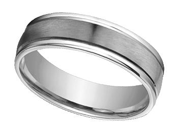 18k white gold wedding bands ksvejds