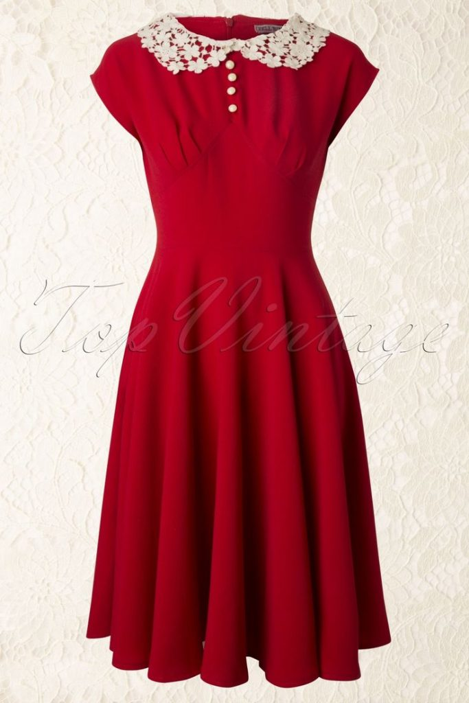 1940s dresses hell bunny – 40s emilie dress in red. i wore this dress yesterday and itu0027s wyinolc