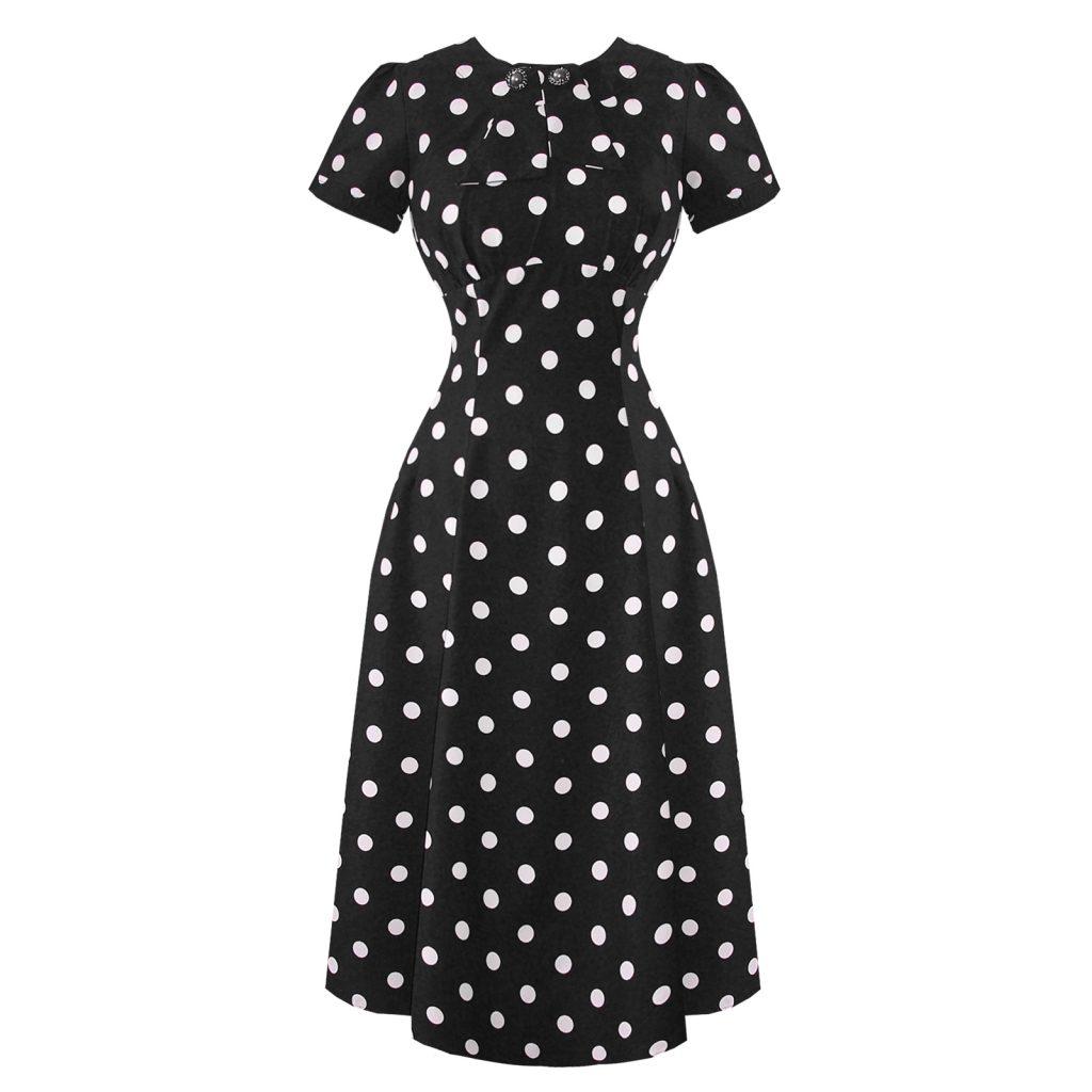 1940s dresses hell bunny madden 1940s dress rqkntyj