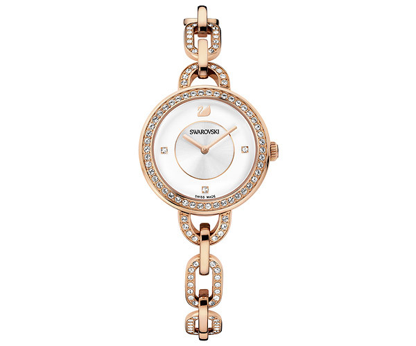aila white rose gold tone bracelet watch - usa - swarovski online shop sqahhdc