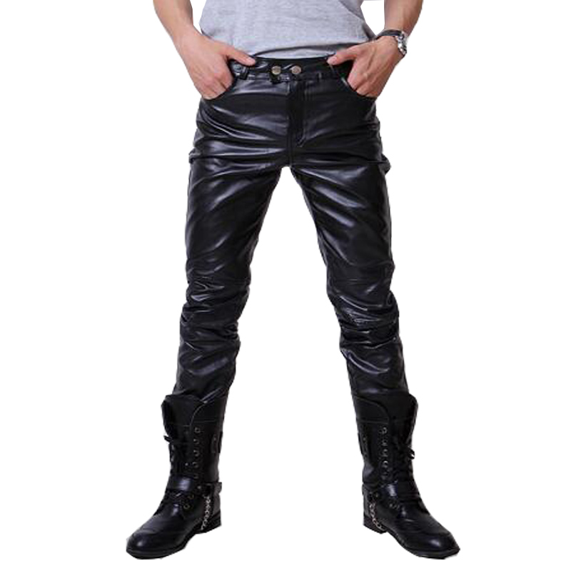 aliexpress.com : buy 2016 hip hop mens leather pants faux leather pu  material 3 nnfeptb