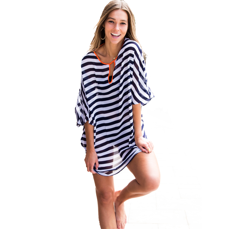 aliexpress.com : buy tooou striped beach womens swimsuit coverups, womens  beach cover up dresses, vwdapwm