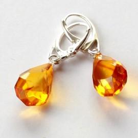 amber earrings TJKTQJO