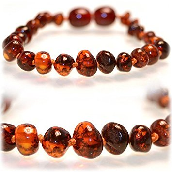 amber necklace the art of cure baltic amber teething necklace (honey) QRFPLNC