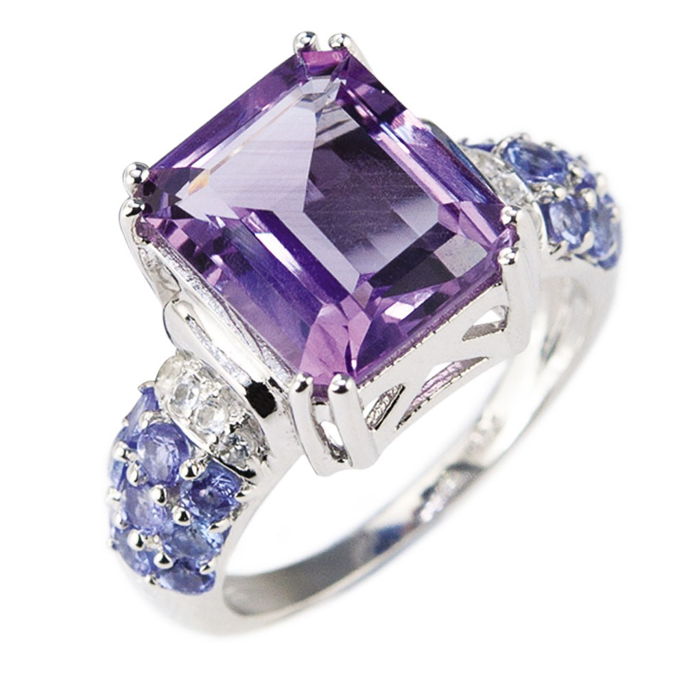 amethyst jewelry tutti fruity amethyst ring WAOHZJA