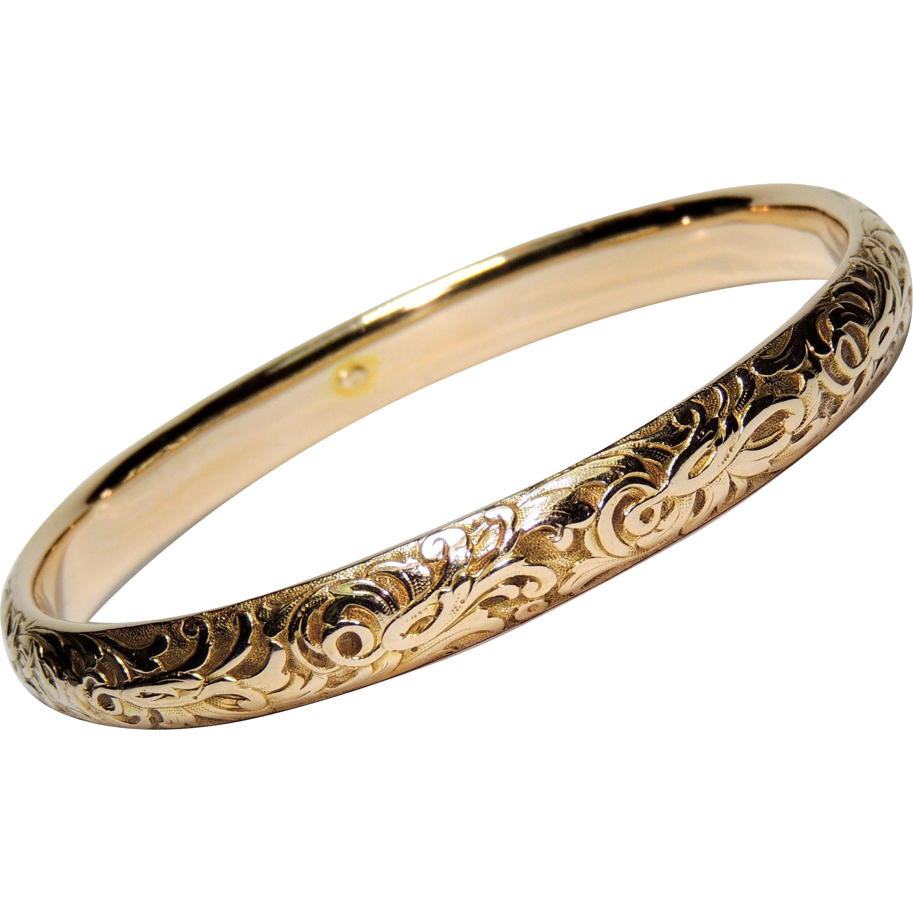 white watch gold bangles bracelet w diamond bangle solid youtube