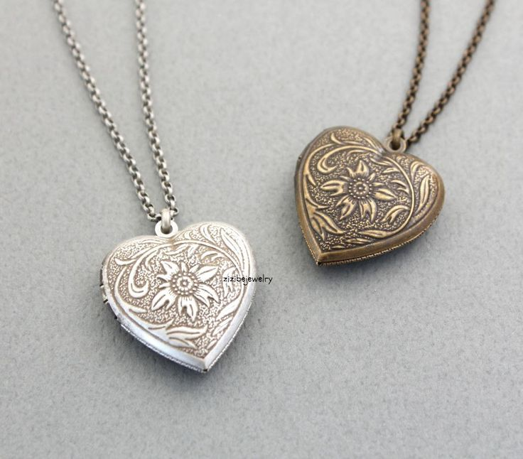 antique necklaces antique style heart locket necklace VBPEOBS