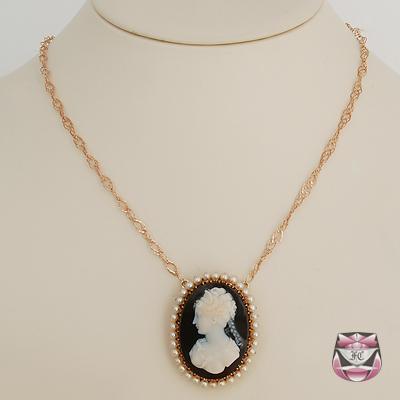 antique necklaces antique victorian hardstone necklace GGLBCEB