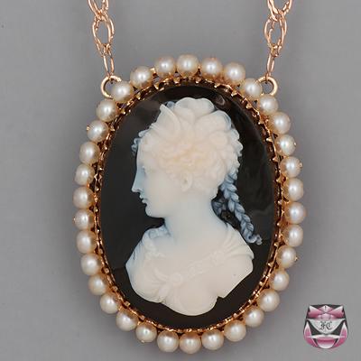 antique necklaces antique victorian hardstone necklace STUXDAA