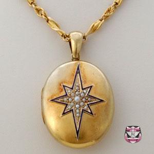 antique necklaces antique victorian locket necklace CNAVJUN
