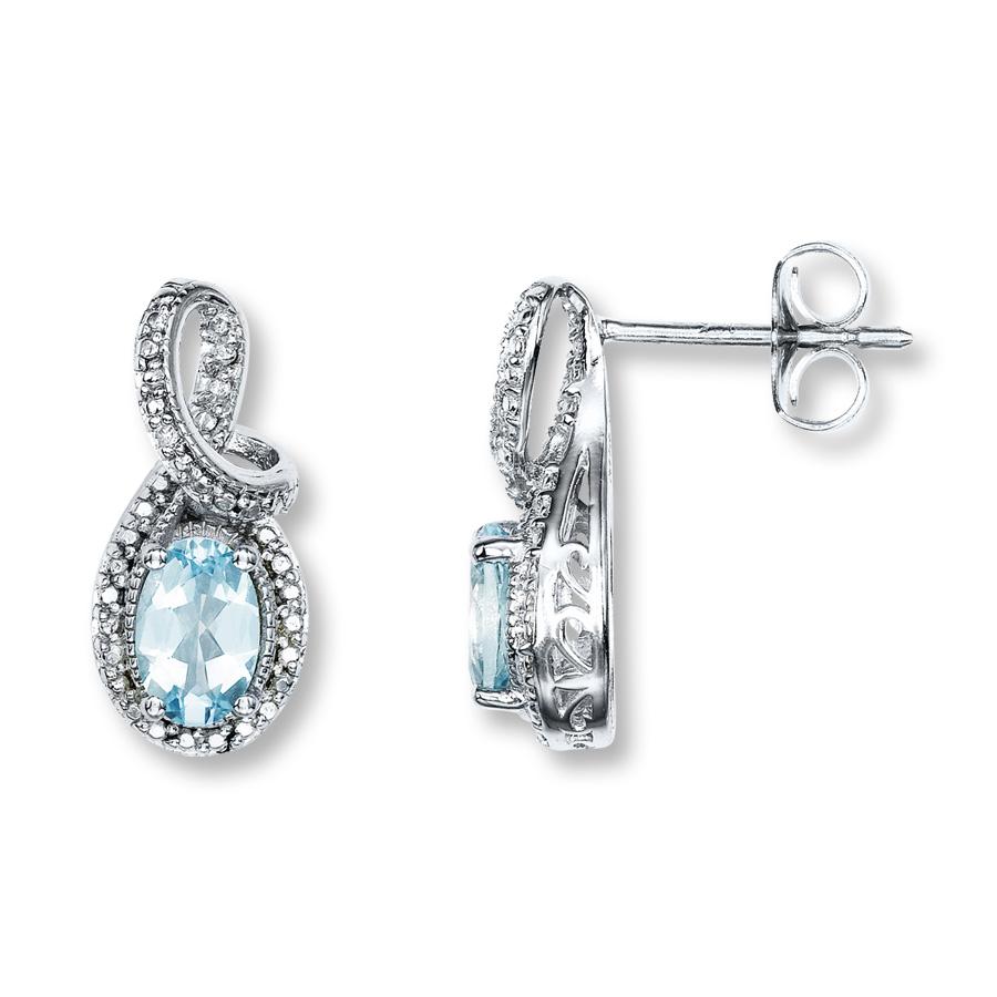 aquamarine earrings hover to zoom ALPBIEV