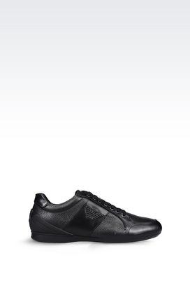armani sneakers men sneaker in calfskin pklsjqg