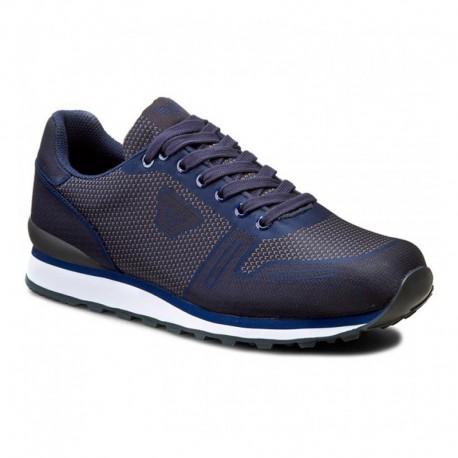armani sneakers menu0027s shoes armani jeans sneakers canvas blue sfucnru