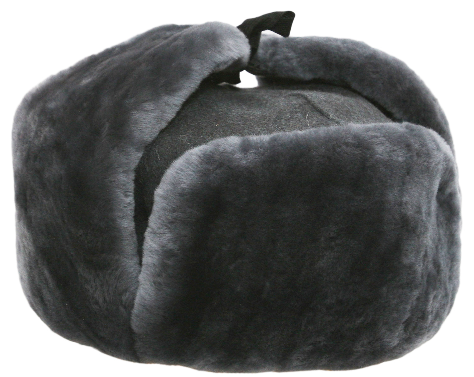 army officer ushanka hat earflaps in the middle gray winter hat ymflmxr