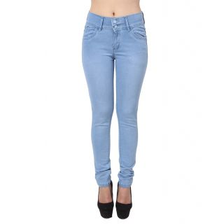ave ice blue monkey wash slim fit jeans for girls bidvtsa