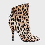 The beauty of the leopard boots