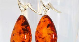 baltic amber earrings ... CERJFYZ