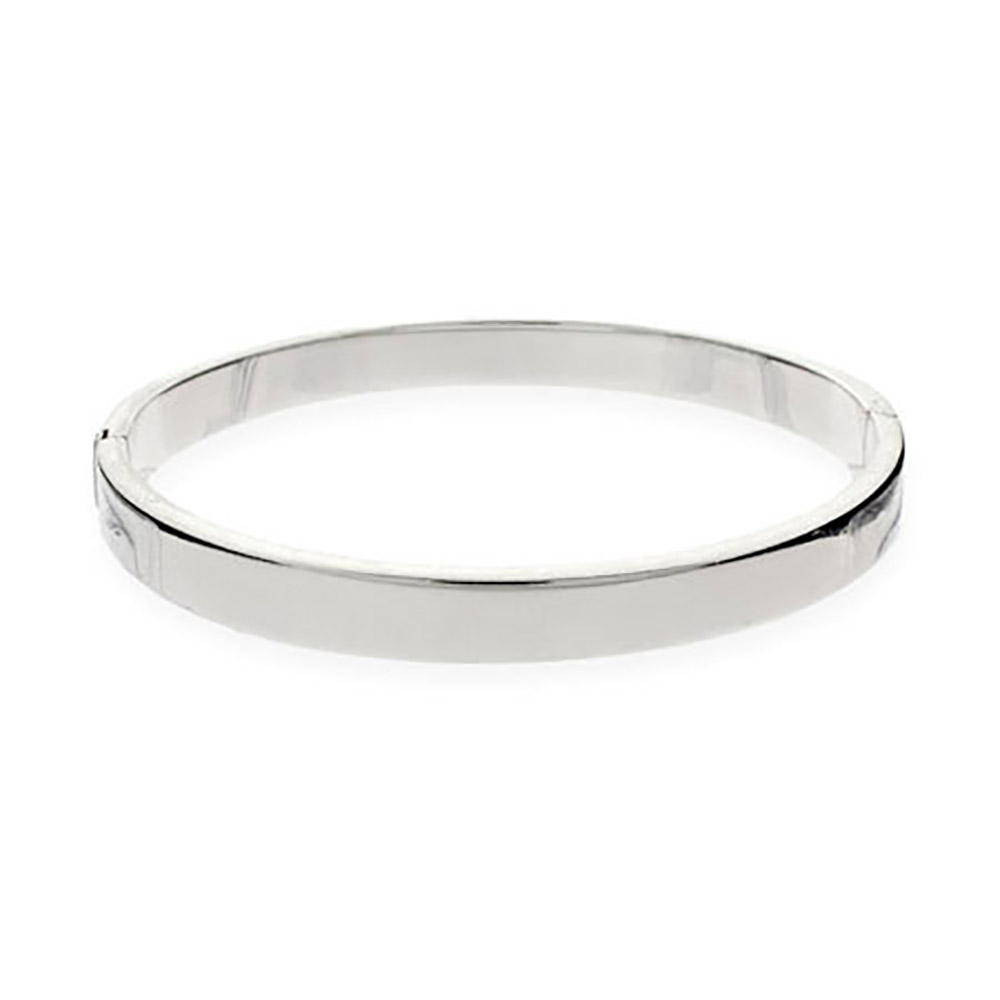 bangle bracelets 5mm flat engravable sterling silver bangle bracelet OLQTSOJ