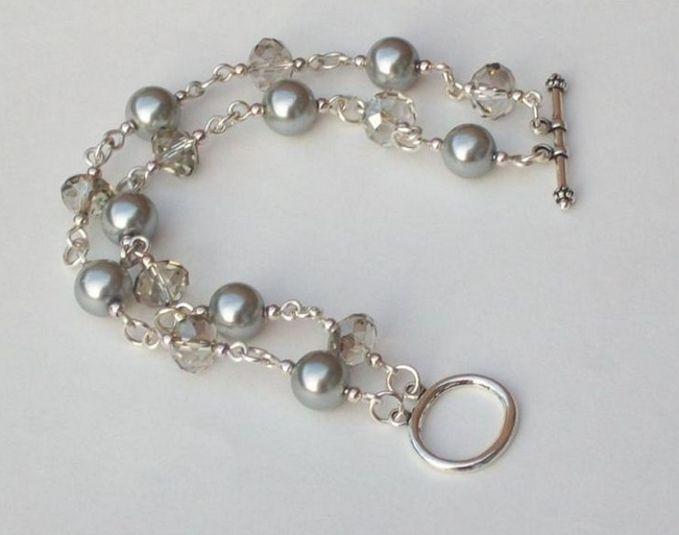 bead and chain bracelet zedjvrx