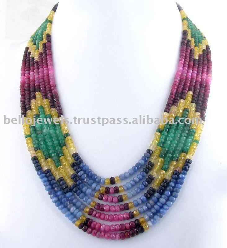 beads jewellery designs designer multi gemstone beaded necklace victoria - buy precious  necklace,precious jewelry,gemstone jewelry product on HJEGGPW