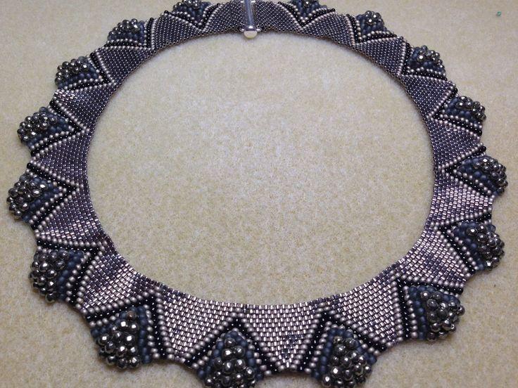 beads jewellery designs dune necklace - a bronzepony beaded jewelry design IUMFULK