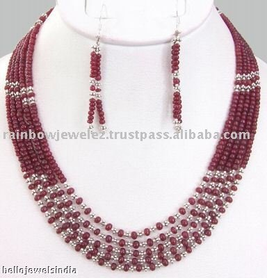 beads jewellery designs rare african red ruby beads necklace-designer gemstone beaded jewellery  manufacturer - buy fashion jewellery,beaded ZRXXVYW