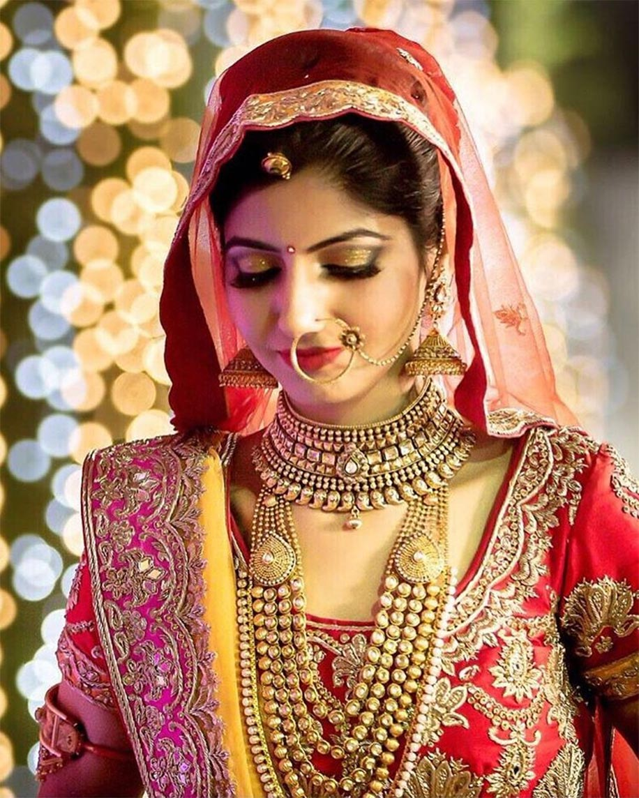 Elegant Charm Of Bridal Jewellery