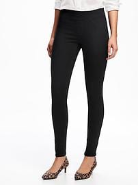 black jeggings mid-rise rockstar jeggings for women tbklejp