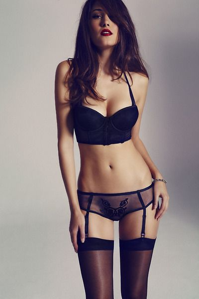 black lingerie. love that itu0027s practical enough to wear under most dresses. zgenbwb