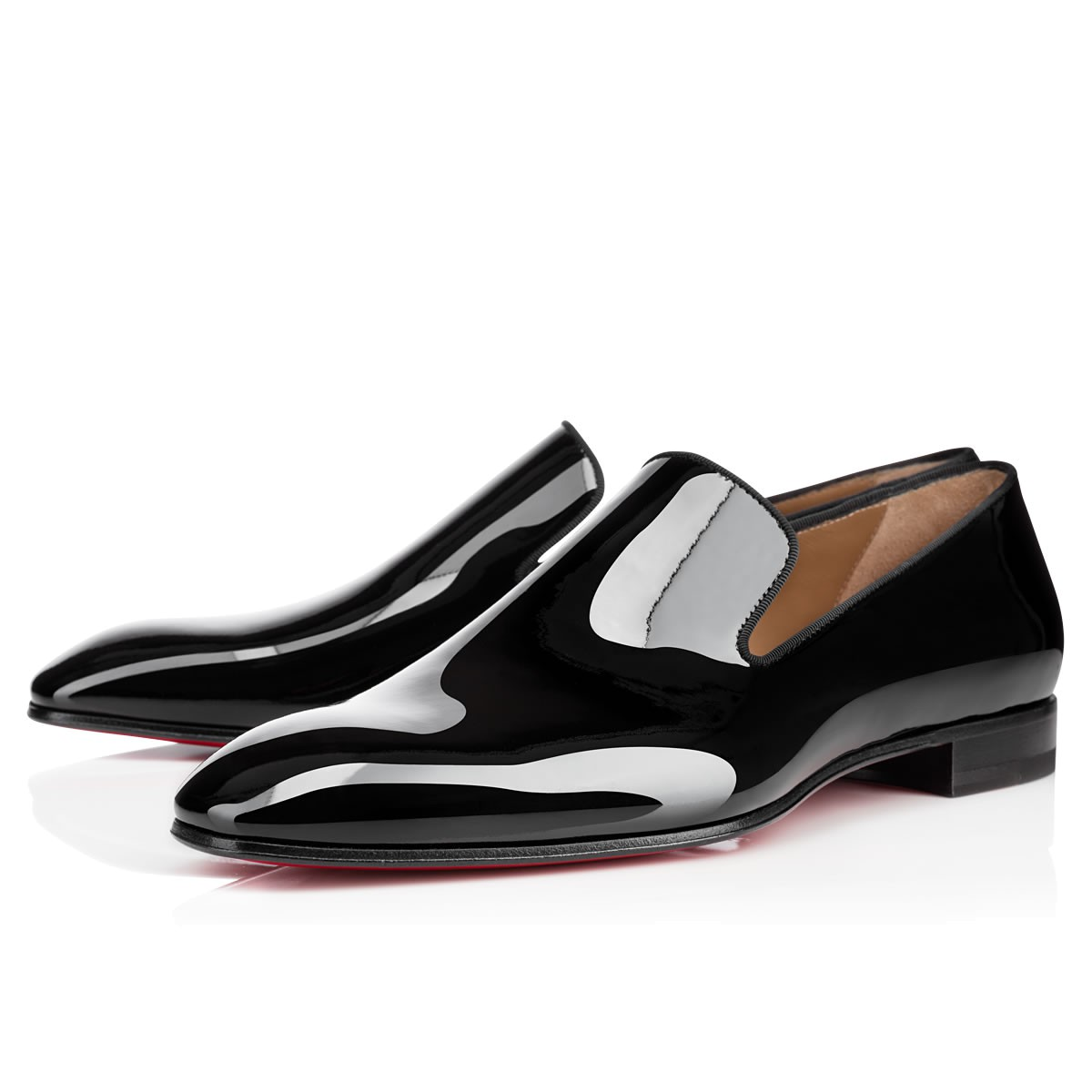 black patent shoes men shoes - dandelion patent - christian louboutin ... pqarqdb