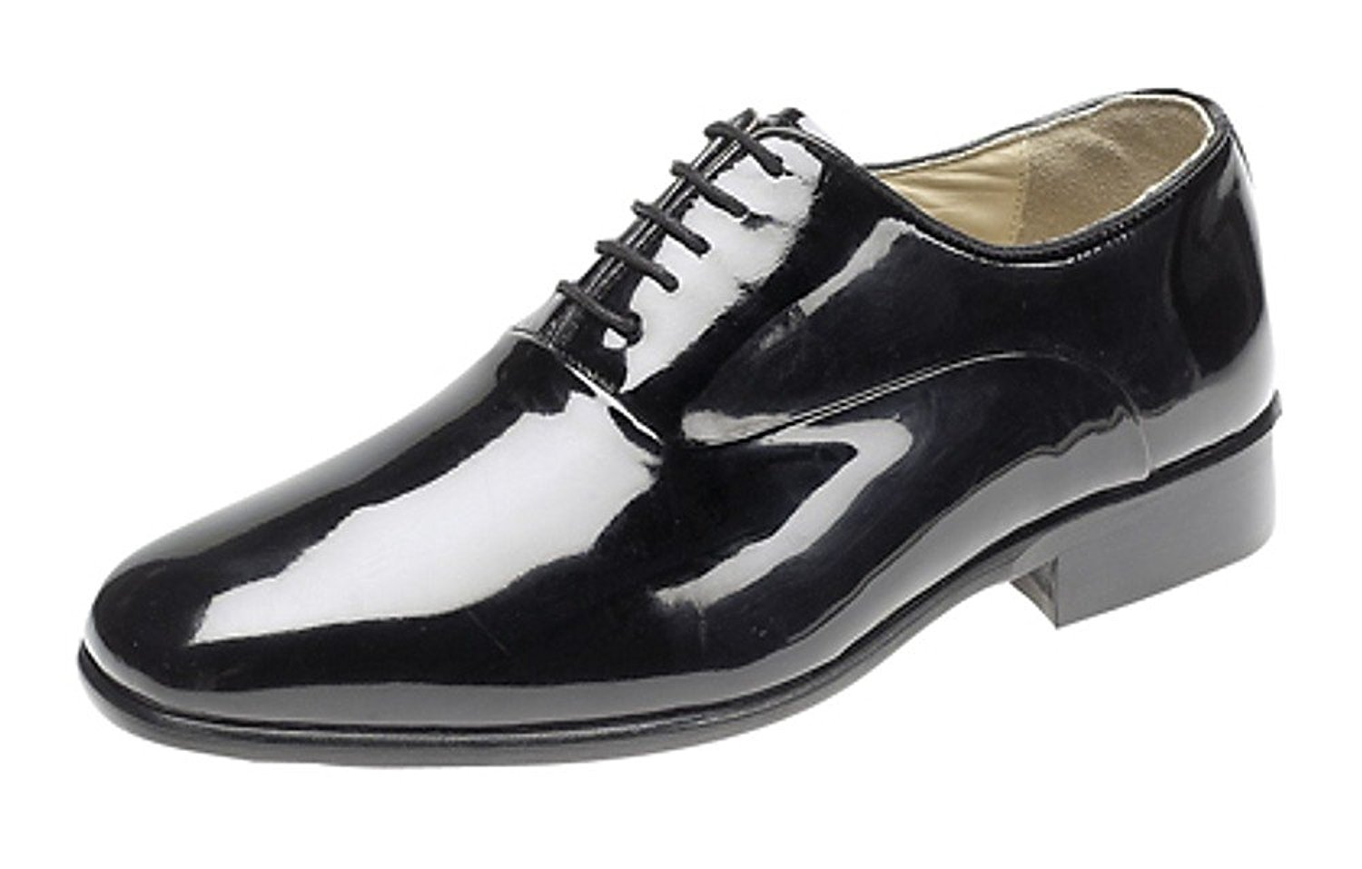 black patent shoes mens evening / uniform / oxford shoes black patent leather u0026 leather sole xieuxjo