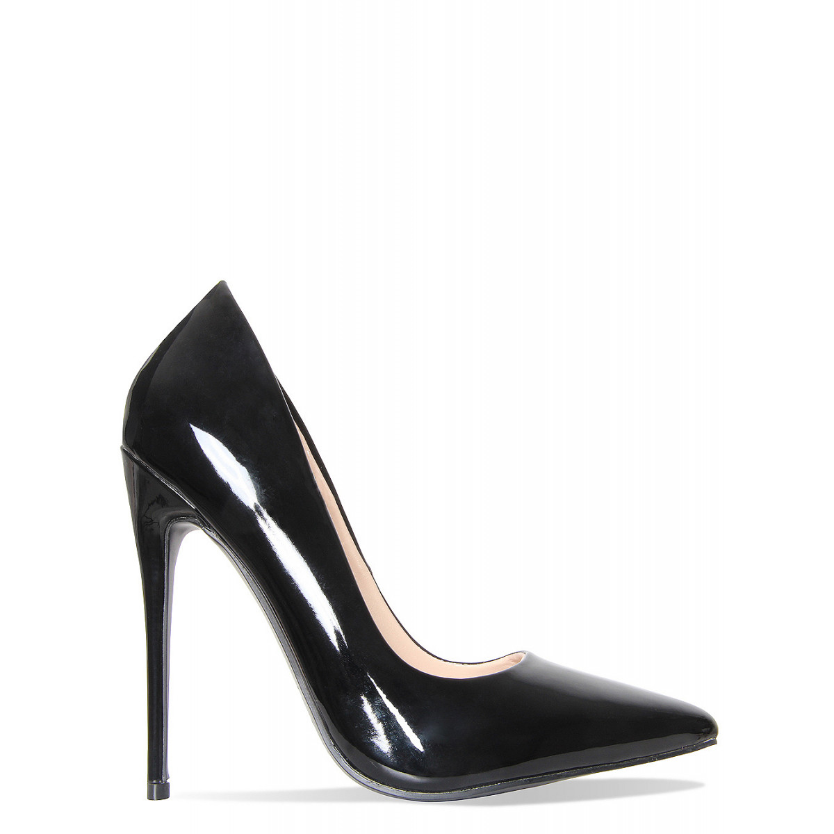 black patent shoes simone black patent stiletto court heels : simmi shoes qgsjmny