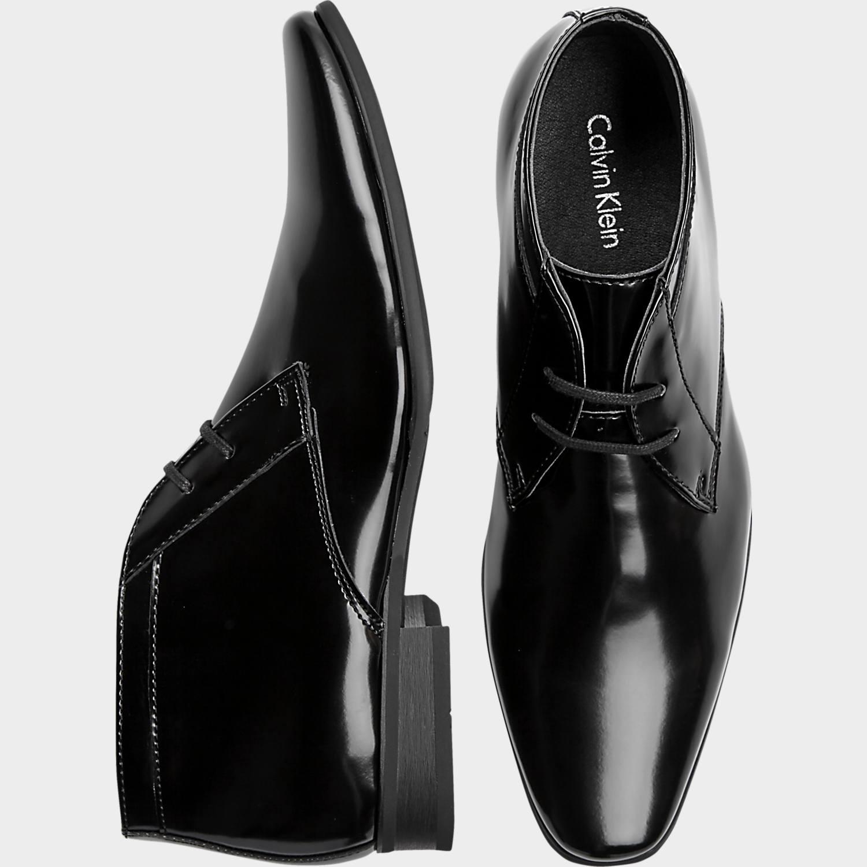 black shoes calvin klein ballard black tuxedo boot - menu0027s formal shoes | menu0027s  wearhouse qgfmoyt