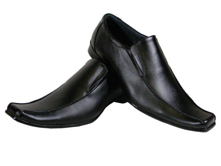 black shoes new-mens-black-leather-men-casual-loafer-shoe- gabyuiv