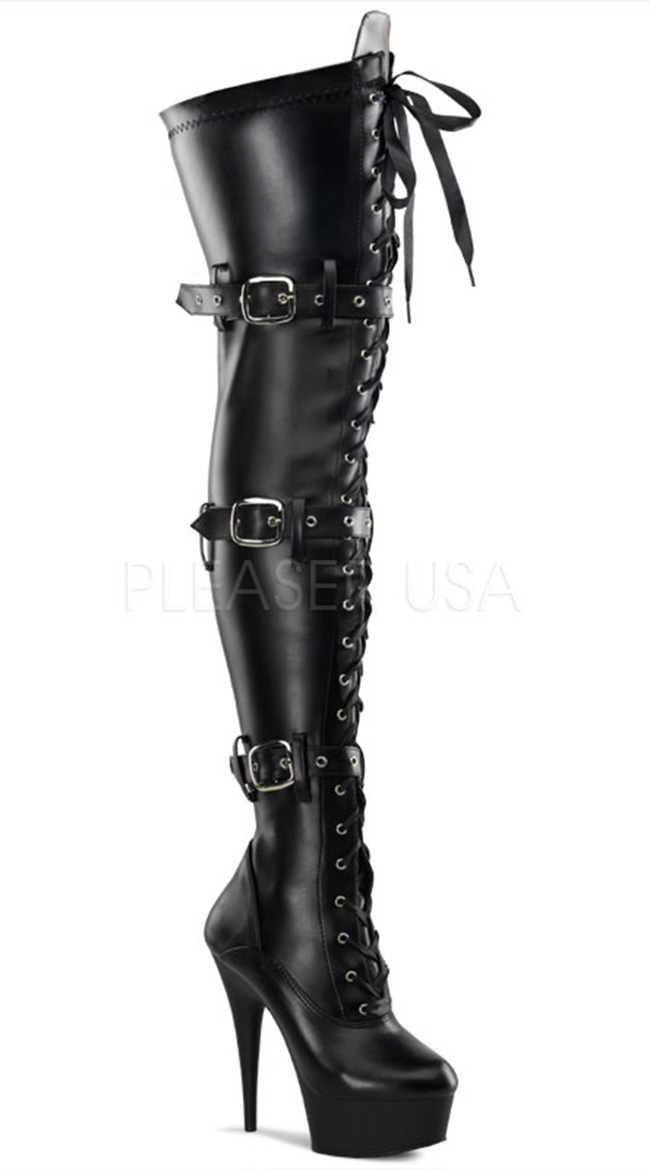 black thigh high boots total domination thigh high platform boot, thigh high boots for women, black  leather thigh qnmpnbq