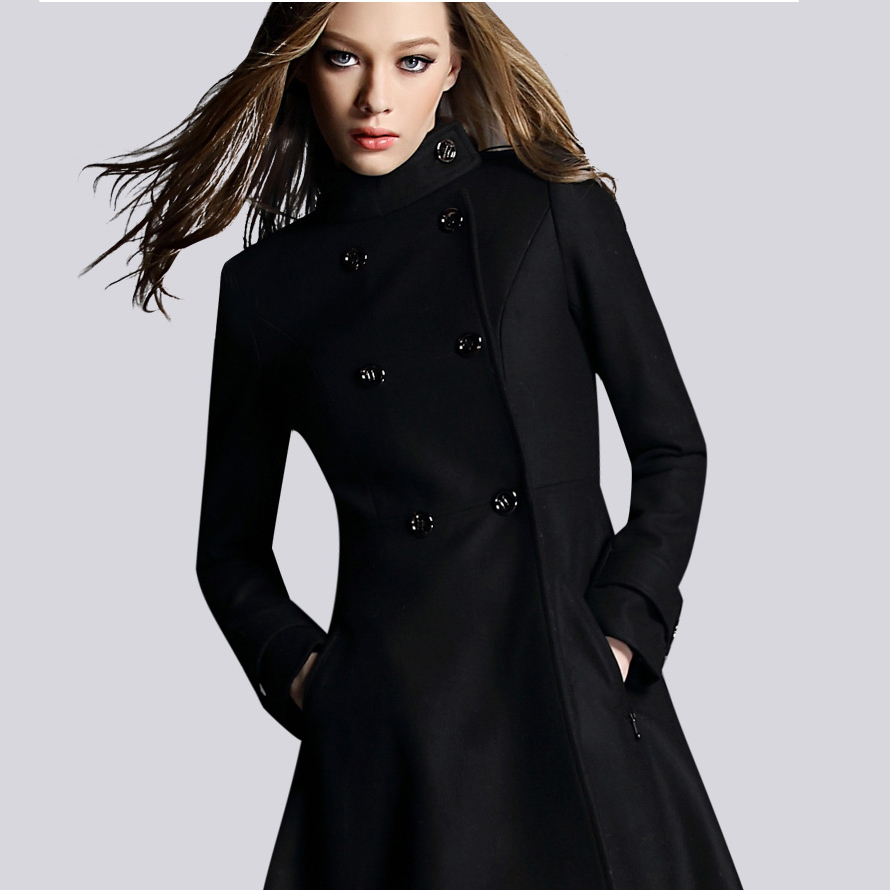 black wool coat womens black wool winter coat - google search yzgsecd