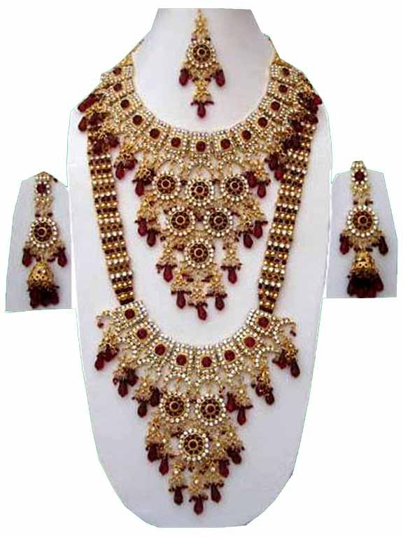 blossom arel indian fashion jewelry set jvs 234 bhjugjw