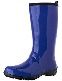 blue boots kamik womenu0027s heidi rain boot kqzdueo