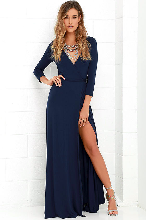 blue maxi dress garden district navy blue wrap maxi dress 1 ekxdjjn