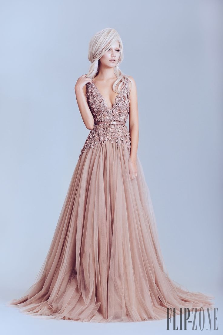 Wearing a blush wedding dress on your great day – StyleSkier.com