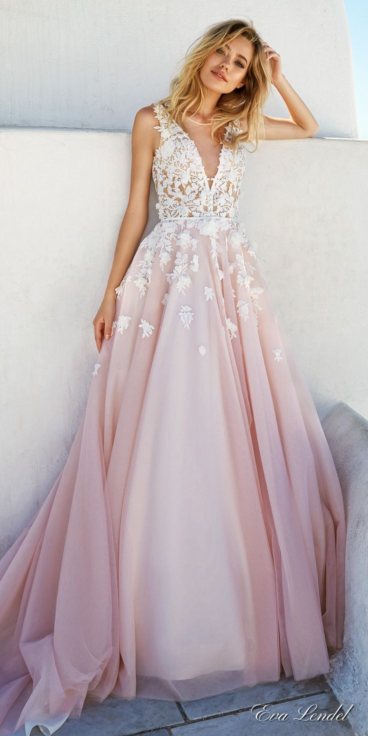 Wearing a blush wedding dress on your great day styleskier blush wedding dress are you into blush wedding dresses nvotdnd junglespirit Choice Image