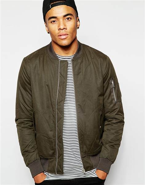 bomber jacket men asos ocbzomo