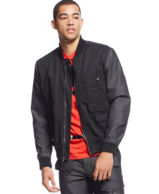 bomber jacket men sean john menu0027s two-tone bomber jacket, created for macyu0027s zhmfyhm